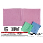 TW201C 20''x40'' Color Bath Towel 110g/pc