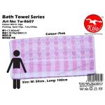 Tw-8607 KIJO Bath Towel - Pink