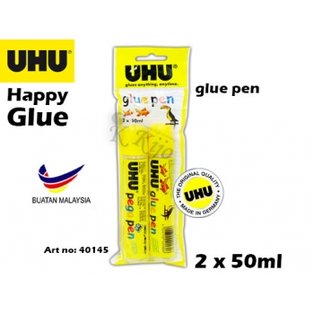 UHU Happy Glue Pen Pega Pen 40145 2 x 50ml