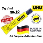 UHU 7ml All Purpose Adhesive Glue Art No:40340 No-10 7ml