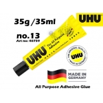 UHU All Purpose Adhesive Glue 35g Art No: 40759 NO13